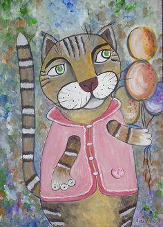 Лазарева Елена - Задумчивый с шариками