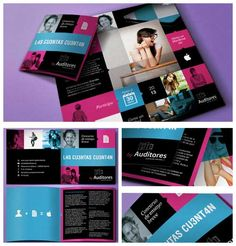 printed brochure design -two bi- folds