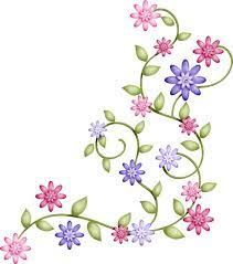 embroidery pattern from 4 galleryru Ribbon Embroidery, Embroidery Stitches, Embroidery Patterns, Garden Embroidery, Boarders And Frames, Bordado Floral, Clip Art, Brazilian Embroidery, Fabric Painting