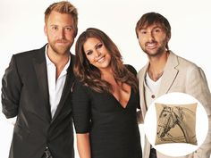 """Hillary Scott, Charles Kelley and Dave Haywood recently teamed up with the household megastore to release the """"Heartland"""" collection"""