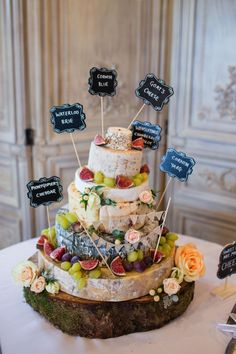 Cheese wedding cake tower. Jo Hastings Photography #autumnwedding
