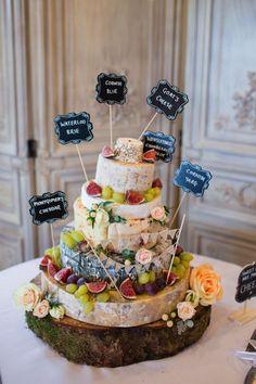 Cheese wedding cake tower. Jo Hastings Photography #autumnwedding