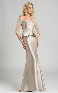 Feriani Couture 18574 Fall 2017 evening mother of the bride dress. - Mother of the Bride Dresses - Feriani Couture 18574 Fall 2017 evening mother of the bride dress. - Evening Dresses - Feriani Couture 18574 Fall 2017 evening mother of the bride dress. Mob Dresses, Event Dresses, Occasion Dresses, Bridesmaid Dresses, Wedding Dresses, Mother Of Groom Dresses, Mothers Dresses, Simple Dresses, Beautiful Dresses
