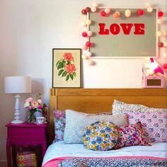 interior, idea, floral prints, bedroom decor, pattern, lake, hous, bedrooms, florals