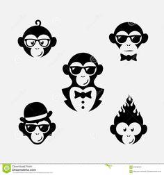 Logos De Singe - Télécharger parmi plus de 61 Millions des photos, d'images, des vecteurs et . Inscrivez-vous GRATUITEMENT aujourd'hui. Image: 61946121