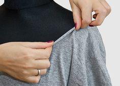 Как переделать мужскую футболку в женскую 🚩 как сделать майку из мужской футболки 🚩 Hand-made