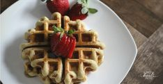 Paleo waffles don't have to be complicated- and they can taste great too! Try these made with cassava flour- grain-free, gluten-free, and so good!