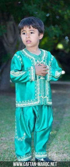 Jabador pour le mois sacré de ramadan, jabador pour garçon à offrir à votre fils.Caftan marocain pour enfant.