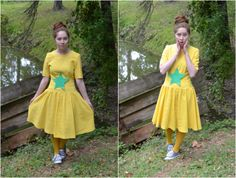 Sneetch Dr. Suess Costume!   More Dr. Suess outfits on this post!