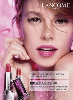 New 'Lancôme' Ad for Blanc Expert Collection 2016 : lilydaily