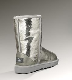 UGG® Classic Short Sparkles for Women | Glittery Boots at UGGAustralia.com....yes...they're amazing...