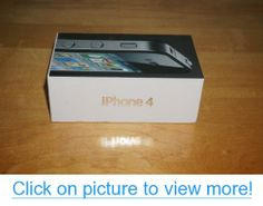 Apple iPhone 4 Black Smartphone 16GB (AT$T) #Apple #iPhone #Black #Smartphone #16GB #ATT