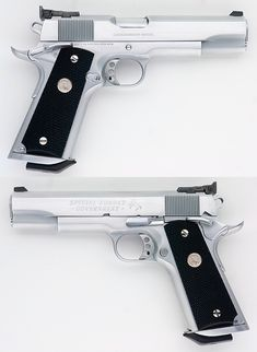 COLT 1911 SPECIAL COMBAT GOVERNMENT COMPETITION MODEL HARD CHROME 45 ACP Item: 11366465 | Mobile GunAuction.com