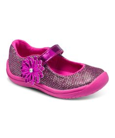 Look at this Stride Rite Pink Haylie Mary Jane on #zulily today!