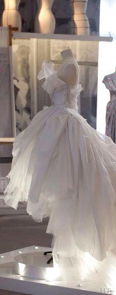 christian dior couture ballerina ballgown. Have no idea what year.