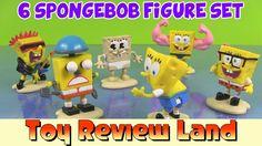 SpongeBob Hall Of FameFigurine Set with 6 of Sponge Bob Squarepants most...