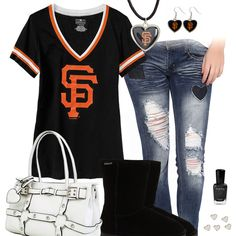I Heart The San Francisco Giants Outfit
