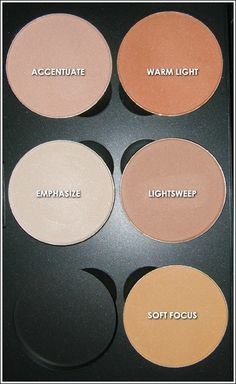 Lightsweep - MAC Cosmetics - Sculpt & Shape Review, Swatches, Product Photos