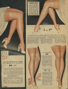1942 Spiegel Catalog: women's lingerie    Ok, this was a little before my time, but we still had 'em!
