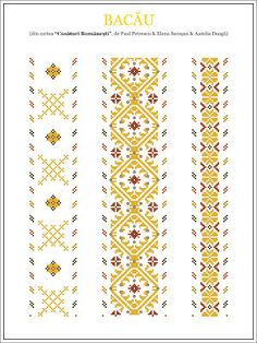 Semne Cusute: iie din MOLDOVA, Bacau Celtic Cross Stitch, Cross Stitch Charts, Cross Stitch Patterns, Folk Embroidery, Cross Stitch Embroidery, Embroidery Patterns, Blackwork, Palestinian Embroidery, Moldova