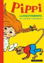 Pippi Langstrømpe - nyoversettelse av Astrid Lindgren (Innbundet)