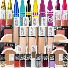 Maybelline Super Stay 24 Hour Beauty Box - Makeup Kits - Choose Your Shade! Maybelline Superstay, Makeup Beauty Box, Makeup Box, Revlon Color, Milani Cosmetics, Makeup Deals, Lip Stain, Eye Palette, Make Up