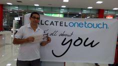 Compartimos la alegría de Fabio Martínez, un nuevo ganador con ALCATEL ONETOUCH.