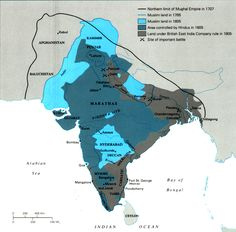 british east india company map - Google Search