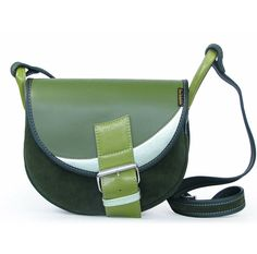 LEATHER SHOULDER BAG WOMEN FRESHMAN 188 via Vintage Leather Bags. Click on the image to see more!