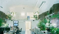 Natural concept small office Architecture Modern Contemporary Office Interiors Would Be Suitable For Creating Cozy And Tranquil Office Nuance Because There Is Natural And Modern Concept For The Pinterest 42 Best Green Office Images Sustainability Green Architecture House