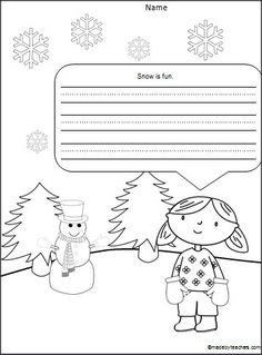 1000 images about kindergarten winter on pinterest acrostic poems mittens and writing. Black Bedroom Furniture Sets. Home Design Ideas