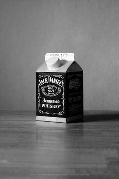 Jack Daniel's milk