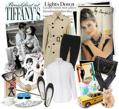 """""""Breakfast at Tiffany's"""" by love2shop ❤ liked on Polyvore"""