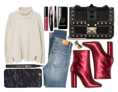 """""""street style"""" by sisaez ❤ liked on Polyvore featuring MANGO, Maybelline, Citizens of Humanity, Jill Stuart, Chanel, Bobbi Brown Cosmetics, Marc Jacobs, Rimmel and Guerlain"""