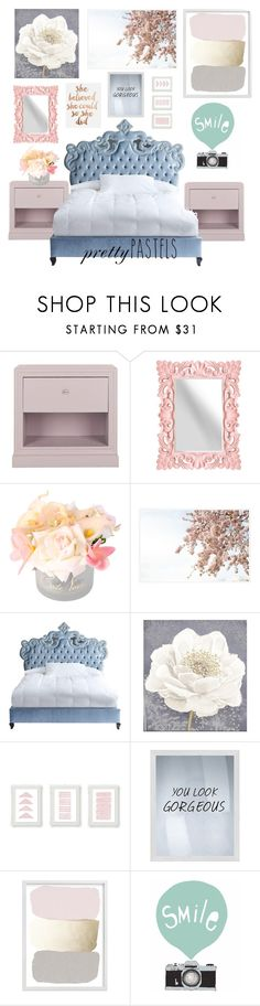 """""""lux"""" by anna-kons ❤ liked on Polyvore featuring interior, interiors, interior design, home, home decor, interior decorating, Safavieh, Pottery Barn, Haute House and Graham & Brown"""