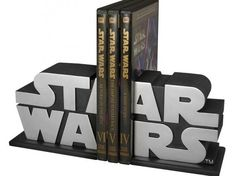 star wars logo bookend