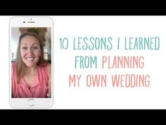 10 Lessons I Learned from Planning My Own Wedding — the thinking closet