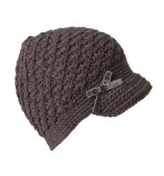 Crochet Preemie Windowpane Skull Cap