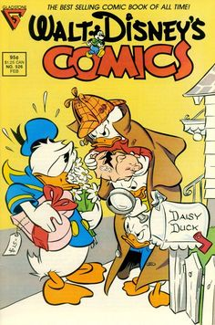 Walt Disney comic, February 1988.