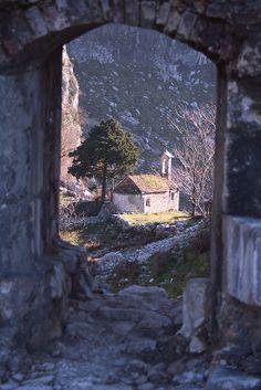 Church ruins, Kotor, Montenegro