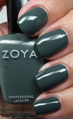 Zoya Evvie (evergreen cream) - one of my favorites