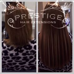 Single drawn prestige hair extensions fitted in stockport salon brunette micro keratin bonded hair extensions using prestige remy aaaa russian standard pmusecretfo Images
