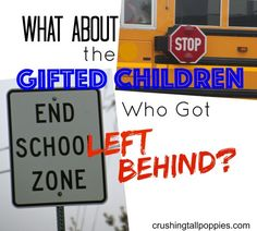 What About the Gifted Children Who Got Left Behind?