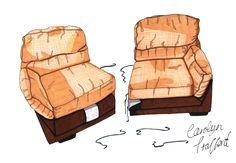 Why I cut my sofa in half by Carolyn Trafford highheelsbrownhair.blogspot.com