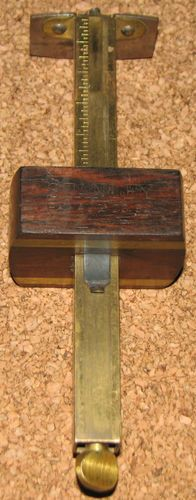 Antique Pat 1892 Stanley Rule Gauge Marking Tool