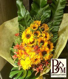 花ギフトのプレゼントBFM ひまわりの花束!元気と明るさ!