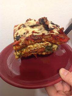 No Empty Fridge: Vegan Vegetable Lasagna. Healthy alternative #vegetarian