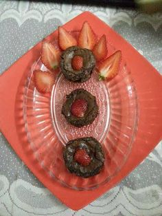 Chocolicious LAVA Cake with Strawberry inside, for recipe click the recipe below- https://www.facebook.com/433851030056899/photos/pb.433851030056899.-2207520000.1412172487./498544270254241/?type=3&theater