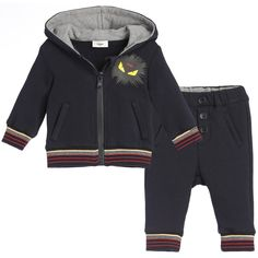 769b856896be Baby Boys Navy Blue  Monster  Tracksuit