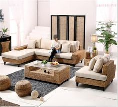 51 Best Rattan Seagrass Wicker Outdoor Furniture Sofa Sets Images